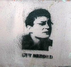 Stencil von Guy Debord