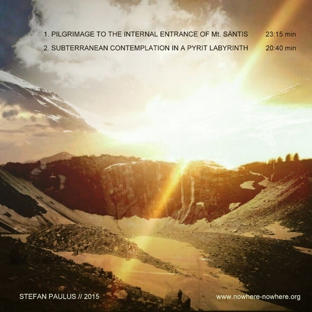 COVER_Back - Stefan Paulus - Halo From Inside The Mountains